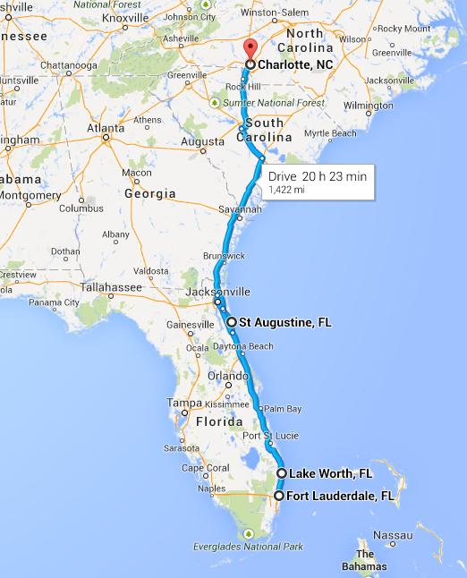 Sinners & Saints - Florida Tour - 2014