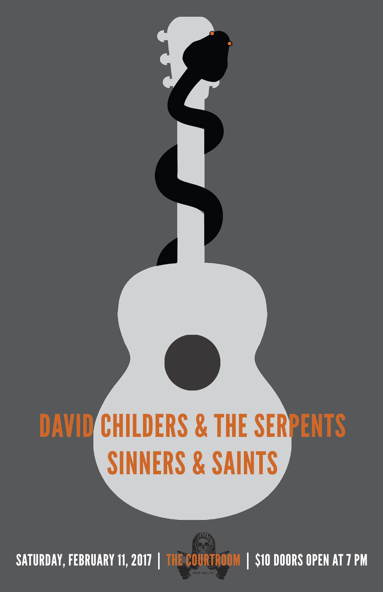 Sinners & Saints at Courtroom with David Childers